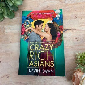 Crazy Rich Asians by Kevin Kwan Paperback Book